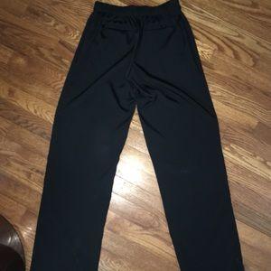 CHRISTIAN SIRIANO Black elastic waistband pants